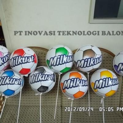 Balon Koin Milkuat