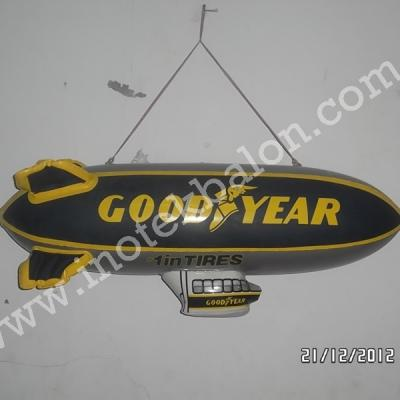 Balon Promosi Zepplin Logo Goodyear